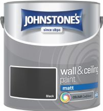 Johnstones Black Coloured Emulsion